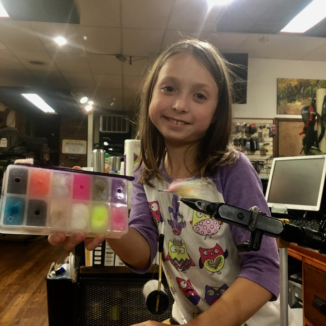 Fly Tying With Addie